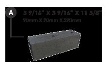 Dimensions de chaque brique roxton
