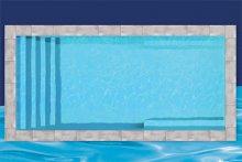 piscine creusee en fibre de verre de 12x27