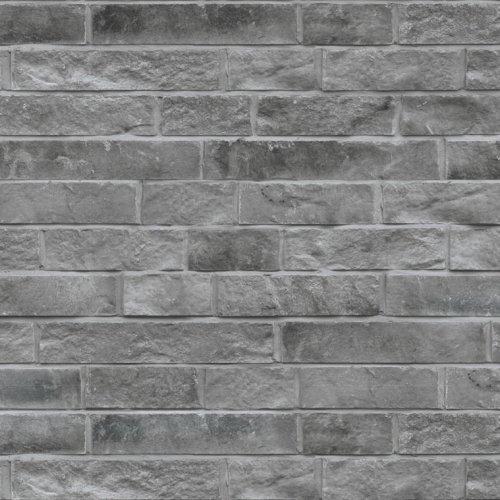 maconnerie brique pour facade lotis de couleur charbon