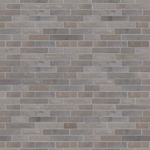 Brique champlain de couleur gris ciel