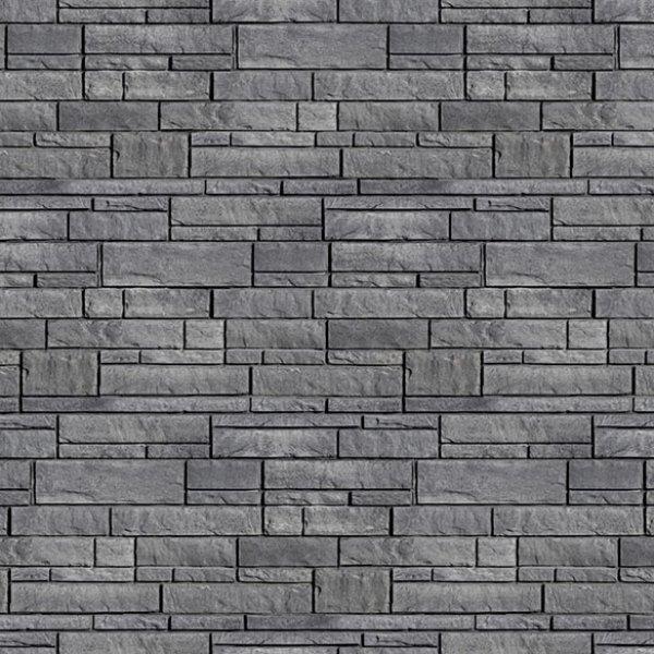 pierre novello de couleur charbon cendre