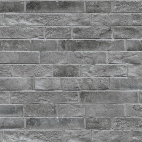 maconnerie brique pour facade lotis grande de couleur charbon