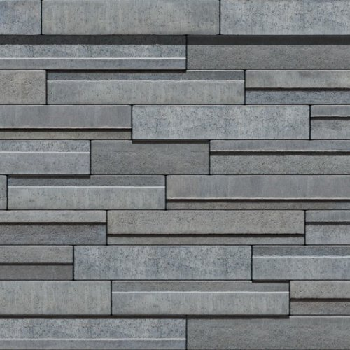 muret decoratif solino 90 de couleur charbon cendre