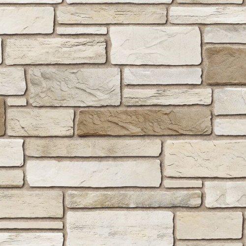 pierre alternative pour interieur et exterieur campagnard de couleur chablis