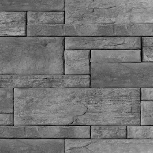 maconnerie pierre alternative pour interieur et exterieur kenya de couleur charbon