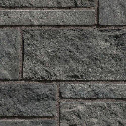 pierre alternative pour interieur et exterieur lorena de couleur charbon