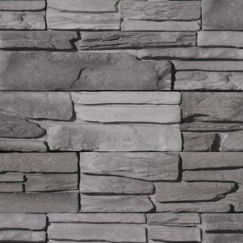 pierre alternative pour interieur et exterieur violie de couleur charbon