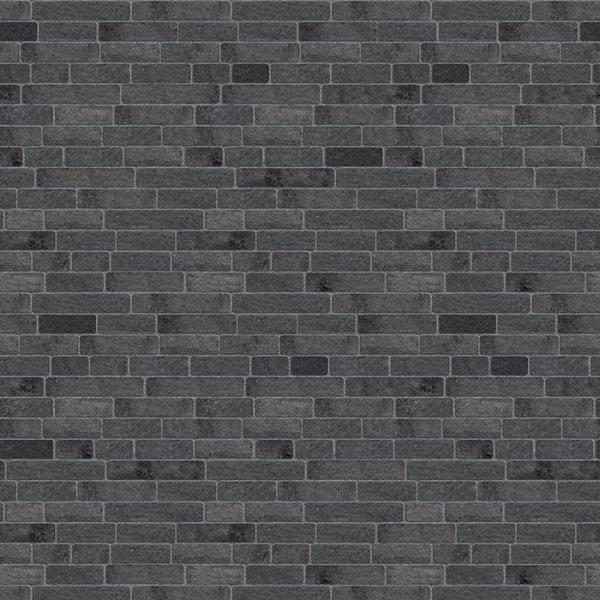 Brique champlain de couleur noir minuit