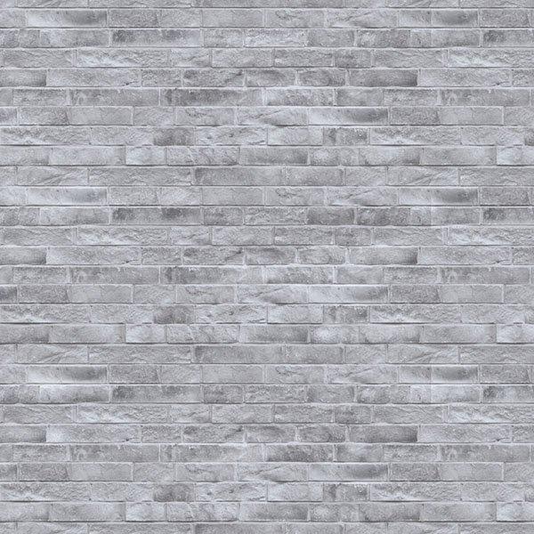 Brique lotis de couleur gris glace