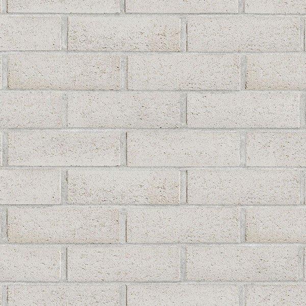Brique roxton de couleur blanc argent
